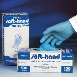 Nitryl Handschoenen Blauw, Latex- en Poedervrij, Niet Steriel, Large Doos 100 st.