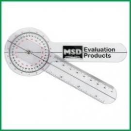 Plastic Goniometer 15 cm - 0 to 360° per 1°