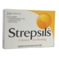 Strepsils Citroen & Honing 24 st.