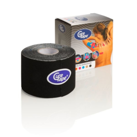 CureTape 50 mm. x 5 mtr. Zwart