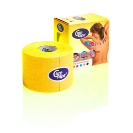 CureTape 50 mm. x 5 mtr. Geel