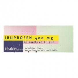 Ibuprofen Tabletten 400 mg. Suikervrij 20 st.