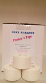 Foxx Runners Tape 50 mm. 24 st. (2,76 per stuk)