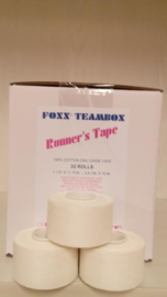 Foxx Runners Tape 50 mm. 48 st. (2,76 per stuk)