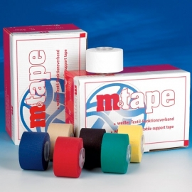 M-Tape 3,8 cm. x 10 mtr. Rood