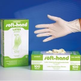 Latex Handschoenen, Licht Gepoederd, Niet Steriel, Large Doos 100 st.