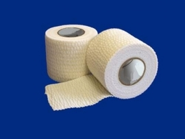 Foxx Stretch `N` Tear Adhesive Tape 75 mm. Wit Doos 12 st.