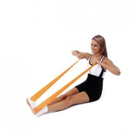 Can-Do-It Exercise Band 45,5 mtr. Groen Heavy