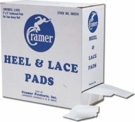 Cramer Heel & Lace Pads 2 x rol 1000 st.