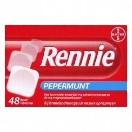 Rennie Kauwtabletten 48 st.