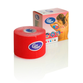 CureTape 50 mm. x 5 mtr. Rood