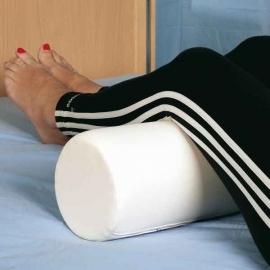 Massagerol, Rond, Ø 20 x 65 cm. Wit