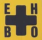 EHBO Sticker 10 x 10 cm,