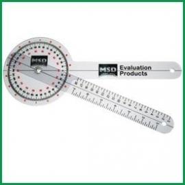 Plastic Goniometer 30 cm - 0 to 360° per 1°