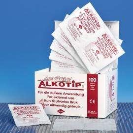 70% Isopropyl Alcohol Doekjes 11 x 9 cm. Doos 100 st.
