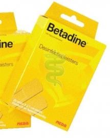 Betadine Desinfectiepleisters 2 x 7 cm. 20 strips