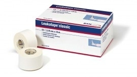 Leukotape Classic 3,75 cm. 12 st. (5,14 per stuk)