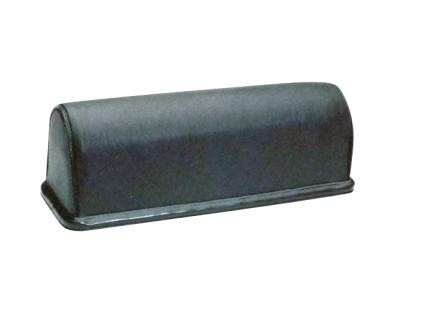 Massagerol Broodmodel 10 x 10 x 27 cm. Zwart