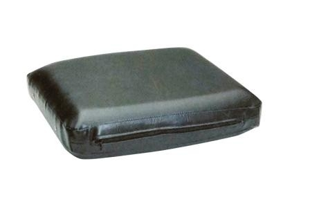 Massagekussen 38 x 28 x 8 cm. Zwart