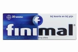 Finimal Tabletten 500 mg. 20 st.