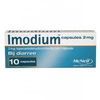 Imodium 2 mg. Capsules 10 st.