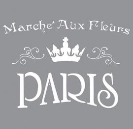 Sjabloon Marche Aux Fleurs Paris