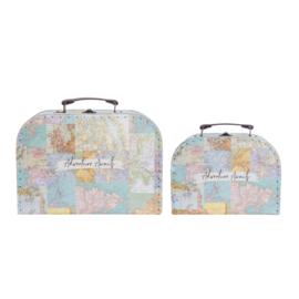 Vintage Maps koffersetje Sass & Belle