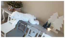 Kinderstoeltje met ster
