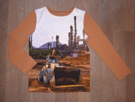 3516 - Shovel longsleeve of shirt