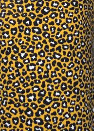 5023 - Legging leopard okergeel / zwart