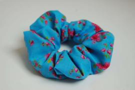 12005 -  Blauwe scrunchie