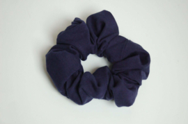 12010 - Donkerblauwe scrunchie