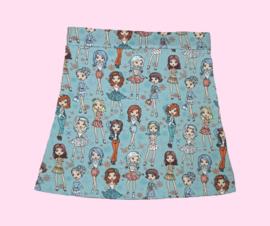 2303 - Fashion meisjes rokje (direct leverbaar)