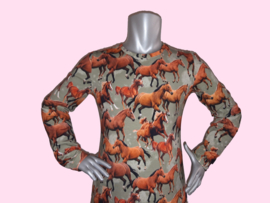 4422 - Paarden jurkje