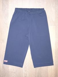 16003 - Donkerblauwe wijdvallende broek