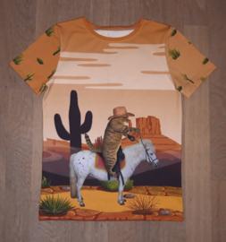 3511 - Cowboy kat shirt