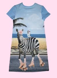 4440 - Giraf en zebra jurkje