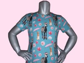 4414 - Paarden jurkje