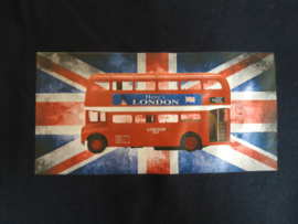 3000 - Longsleeve met London bus maat 110-116