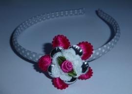 7147 - Diadeem met bloem