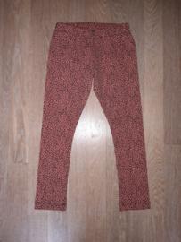 5017 - Legging luipaard roest kleur