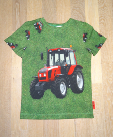 3393 - Tractor shirt of longsleeve 86-92 en 122-128