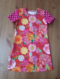 4403 - Fuchsia roze jurkje