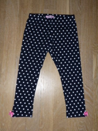 5026 - donkerblauwe stippen legging