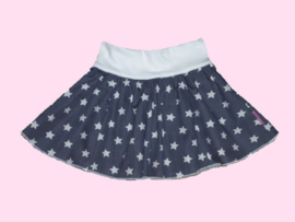 2201 - Grijs wit sterren rokje