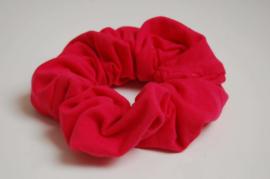 12007 - Fuchsia roze scrunchie