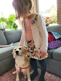 Verliefd op beagle hondjes rokje!