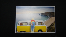 3368 - VW bus aan zee shirt of longsleeve