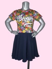 4426 - Super girl wijdvallend jurkje