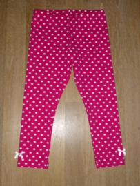 5025 - roze stippen legging